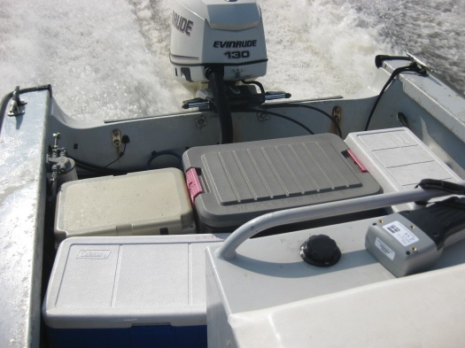Coolers and action-packers make the sampling go 'round